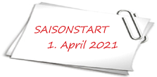 Saisonstart am 1. April 2019